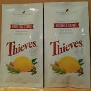 2 New Young Living Thieves Household Cleaner Packs